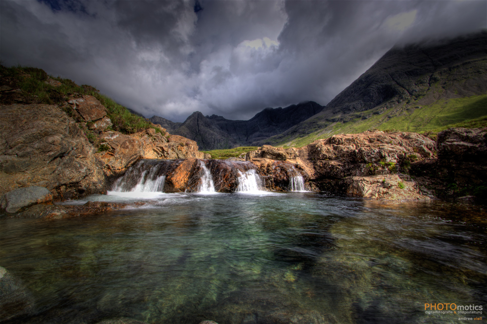 Die Fairy Pools...